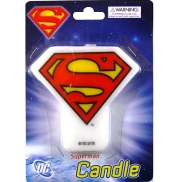 Superman Symbol Candle