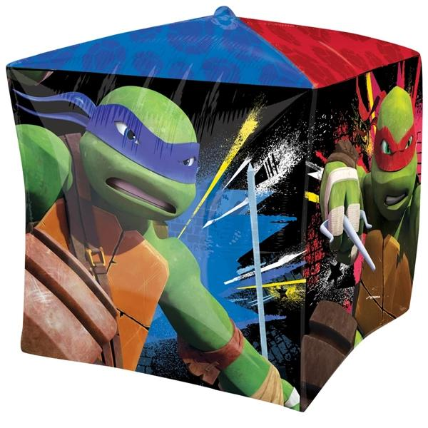 Teenage Mutant Ninja Turtles Cubez Balloon 38cm x 38cm - Party Savers