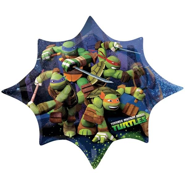 Teenage Mutant Ninja Turtles SuperShape Balloon 88cm x 73cm
