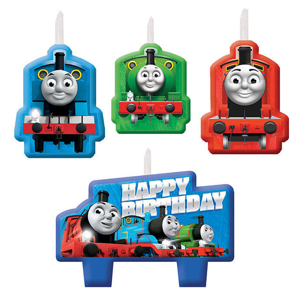 Thomas All Aboard Birthday Candle Set 4 - Party Savers