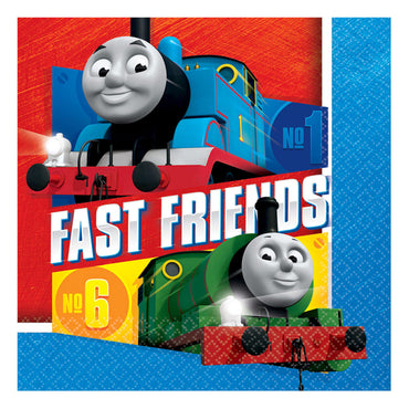 Thomas All Aboard Lunch Napkins 33cm 16pk