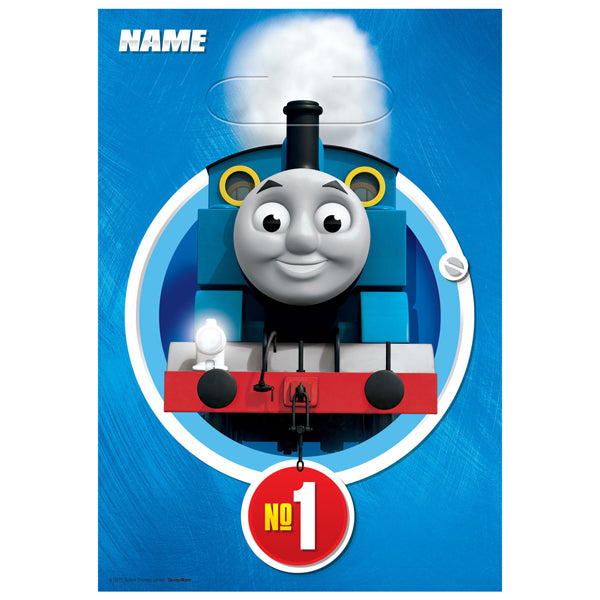 Thomas All Aboard Plastic Loot Bags 8pk