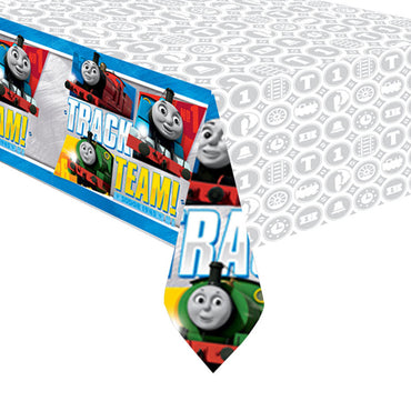 Thomas All Aboard Plastic Tablecover 137cm x 243cm