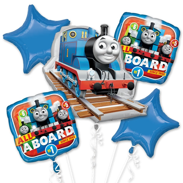 Thomas the Tank Engine Balloon Bouquet 5pk