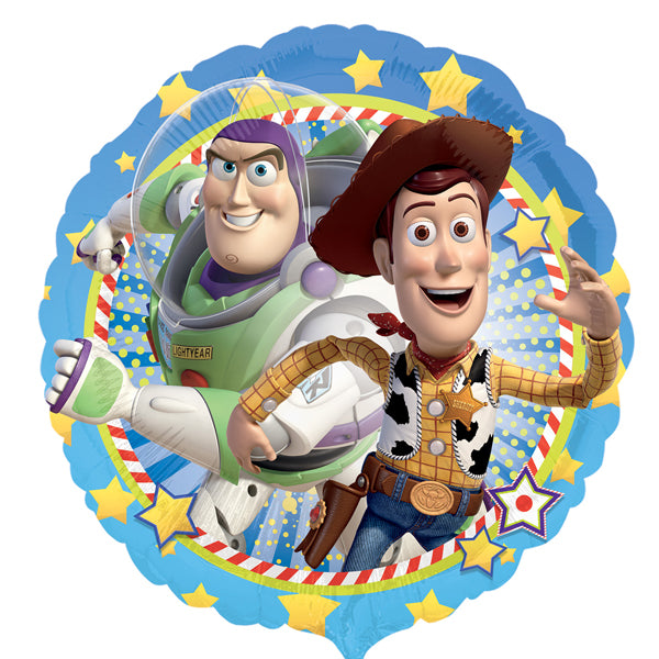 Toy Story Woody & Buzz Balloon 45cm - Party Savers