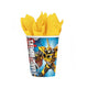 Transformers Core Paper Cups 266ml 8pk