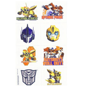 Transformers Core Tattoos 1 Sheet - Party Savers
