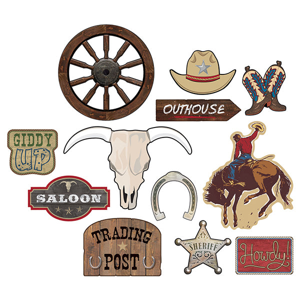 Western Value Pack Cutout 12pk