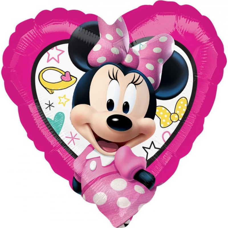 Minnie Mouse Happy Helpers Foil Balloon 45cm - Party Savers