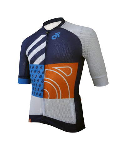 Champion System Apex Lite custom short sleeve cycling jersey - front