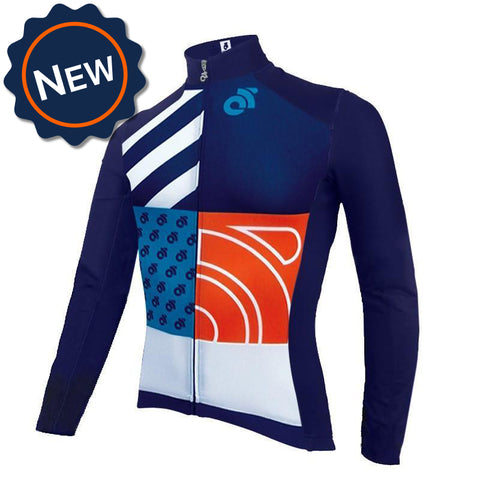 Apex Protect long sleeve custom cycling jersey by Champion System.