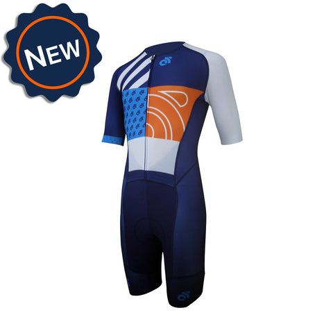 Custom cycling skinsuit. Champion System Performance Skinsuit.