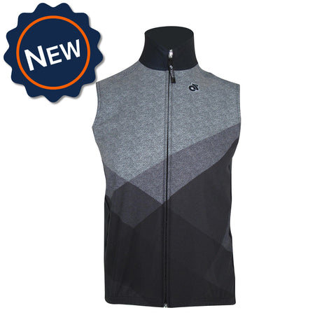 Performance Winter Vest by Champion System. Custom cycling vest for cold windy weather.