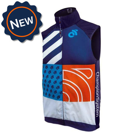 Custom Tech Cycling Vest by Champion System. The leader in custom cycling apparel.