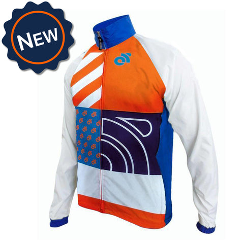 Custom Performance Tech Cycling Jacket by Champion System - the leader in custom cycling apparel.