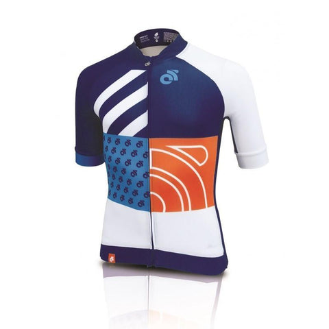 Champion System Apex Pro custom short sleeve cycling jersey - front