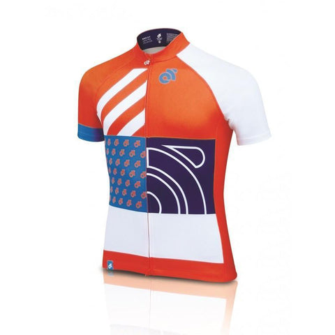 Champion System Performance Pro custom short sleeve cycling jersey - front