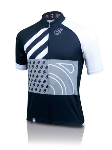 Tech Pro custom short sleeve cycling jersey - front