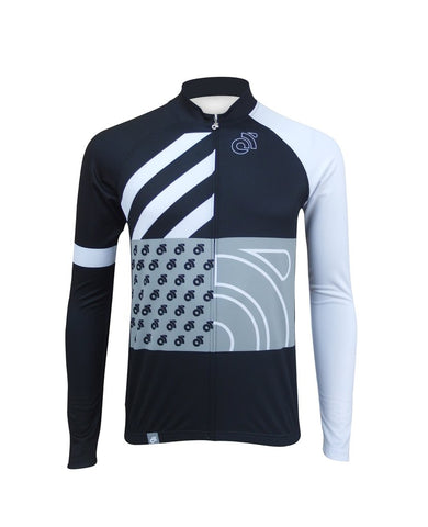 Tech Pro custom long sleeve cycling jersey