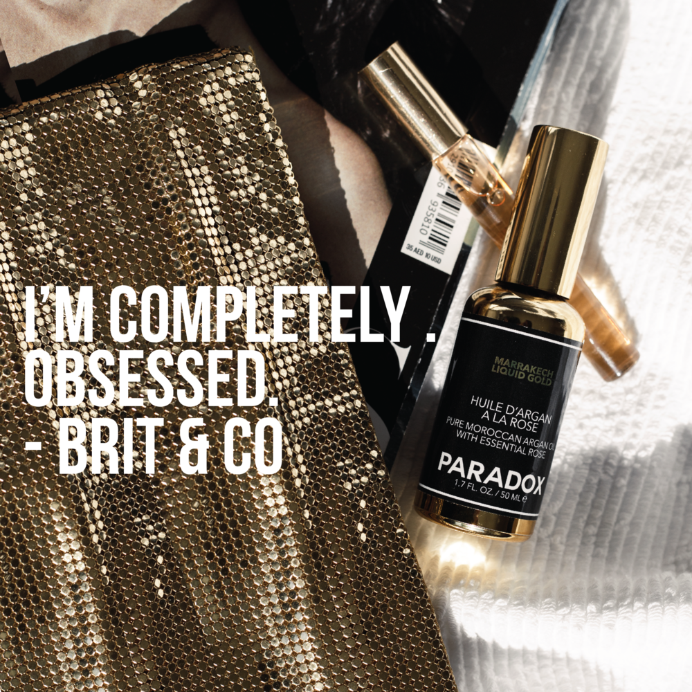 PARADOX MARRAKECH LIQUID GOLD SERUM - BEAUTY OIL SERUM FOR FACE