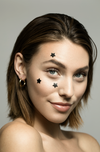 Paradox Beauty - Model wearing Lucky Star Pimple Patches
