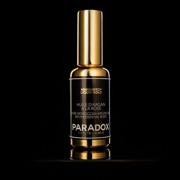 Paradox - Marrakech Liquid Gold - Oil Serum on Black Background