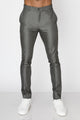 Zinovizo Men's Slim-fit Gunmetal Grey Pants