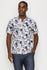 Zinovizo Men's Slim-Fit Pine Tree Print Shirt