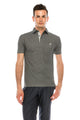 Zinovizo Men's Slim-Fit Grey Polo Shirt