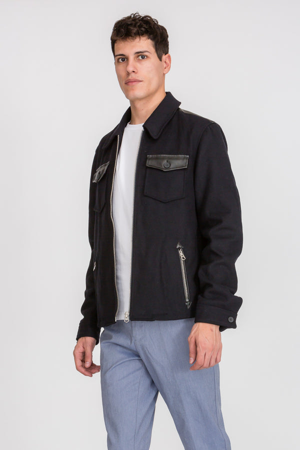 Zinovizo Men's Two Pockets Jacket