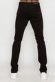 Zinovizo Men's Skinny-fit Black Denim Pants