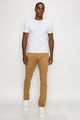 Zinovizo Men's Skinny-fit Sandy Desert (D.Beige) Pants