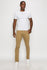 Zinovizo Men's Slim-fit Camel(Khaki) Pants