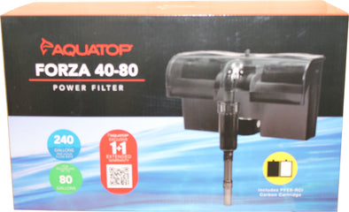Aquatop Aquatic Supplies - Forza Power Filter With Skimmer