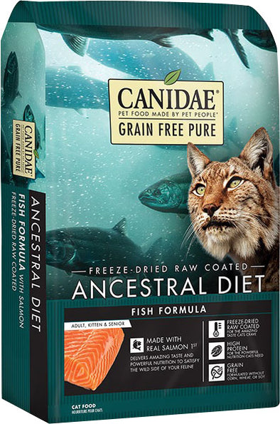 Canidae - Pure - Canidae Pure Ancestral Raw Coated Cat Dry Food