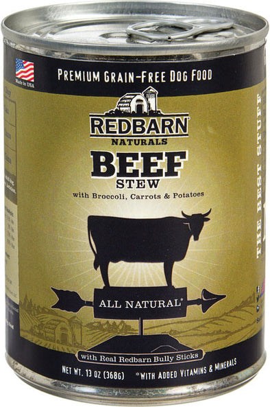 Redbarn Pet Products-food - Stew All Natural Dog Can (Case of 12 )