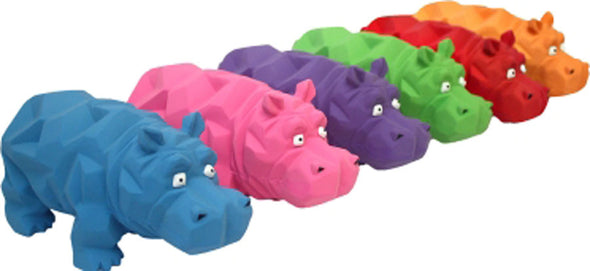 Multipet International - Origami Hippo Latex Toy
