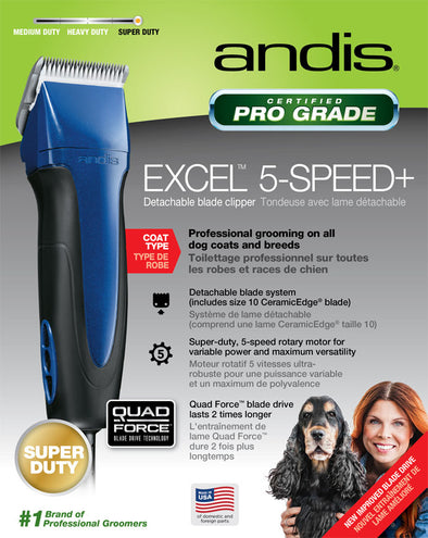 Andis Company - Excel 5 Speed Clipper W/10 Blade