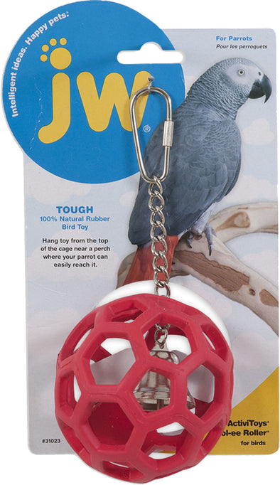 Jw - Small Animal/bird - Activitoys Hol-ee Roller Bird Toy