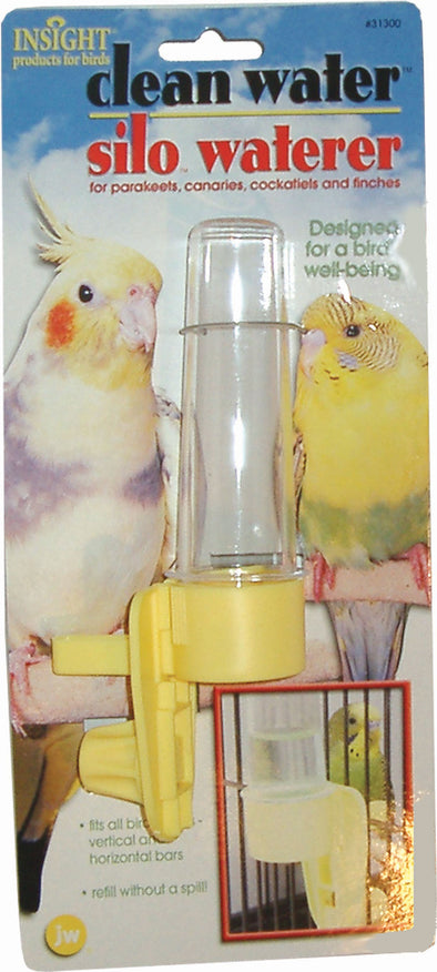 Jw - Small Animal/bird - Jw Clean Water Silo Bird Waterer