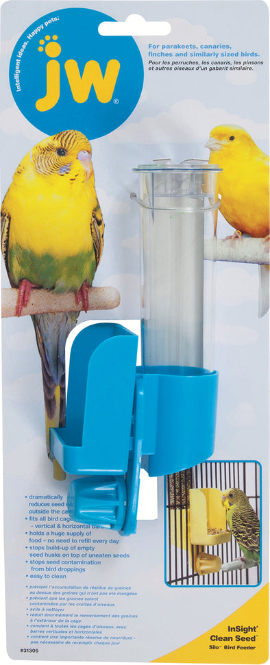Jw - Small Animal/bird - Jw Clean Seed Silo Bird Feeder