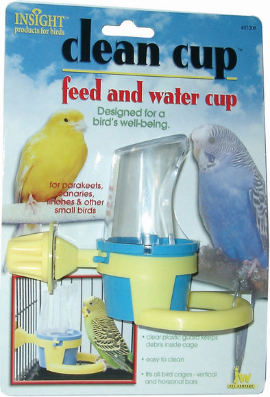 Jw - Small Animal/bird - Jw Clean Cup Feed And Water Cup