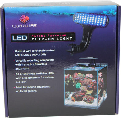 Aqueon Products-Glass-Coralife Led Clip-on Marine Fixture