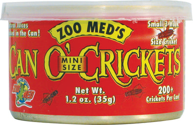 Zoo Med Laboratories Inc - Can O' Crickets Mini Size