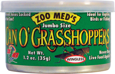 Zoo Med Laboratories Inc - Can O' Grasshoppers