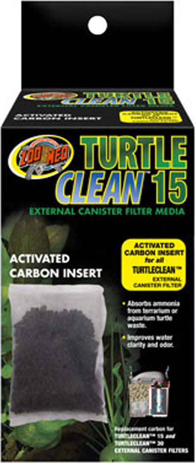 Zoo Med Laboratories Inc - Turtle Clean 15 Activated Carbon Insert