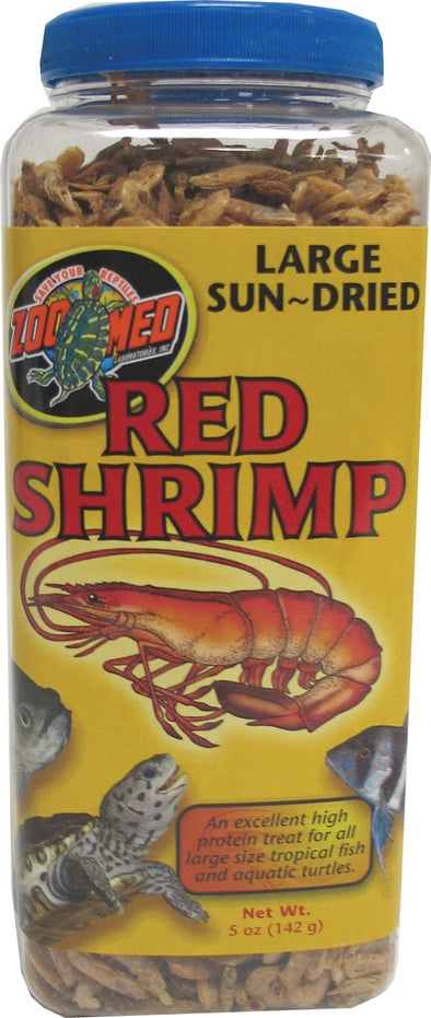 Zoo Med Laboratories Inc - Large Sun-dried Red Shrimp