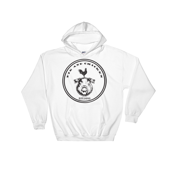 Pig And Chicken Logo | Hoodie