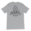 Flying Pig | Black Ink |  Jersey T-Shirt | Back Print Only