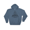 Flying Pig | Black Ink | Hooded Sweatshirt